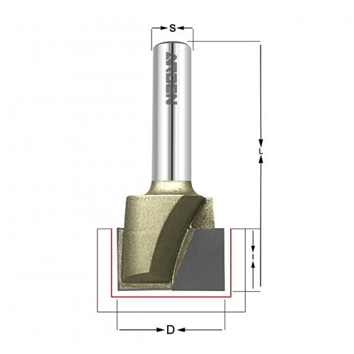 Фрезы ARDEN для выравнивания плоскости 214 серия, артикул  214251
