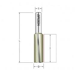 Фрезы пазовые с наклонным лезвием 3°, 110A серия, артикул 110856A