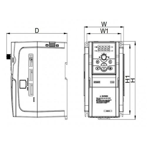 Частотный преобразователь Sunfar E550-2S0030 3 кВт