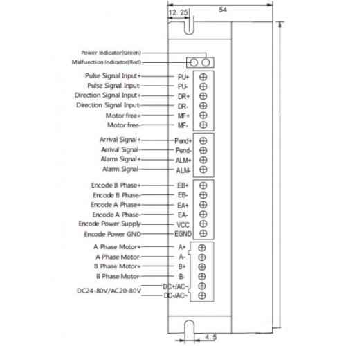 Драйвер ШД SSD2608H