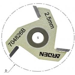 Сменные режущие диски (крепление гайкой) 704 серия, артикул 704826B