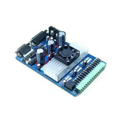 Многоканальный драйвер шаговых двигателей TB6560 3axis Blue