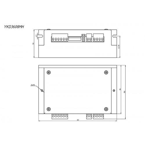 Драйвер 3-х фазного ШД YKD3608MH