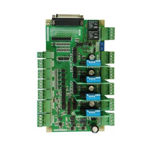 Многоканальный драйвер шаговых двигателей LPT-DRV 1.02