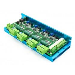Многоканальный драйвер шаговых двигателей, 4-ех осевой ТВ6600-T4 4 axis