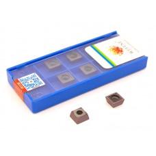 Пластины твердосплавные (сменные) для сверла по металлу SPGT090408-PM VP25TF (10 шт)