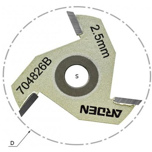 Сменные режущие диски (крепление гайкой) 704 серия, артикул 704810