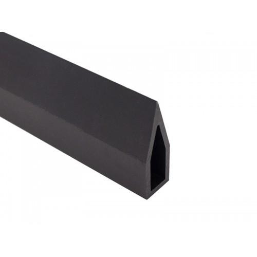 Профиль анодированный, чёрный (АВД-4136) AL-Laser  1030