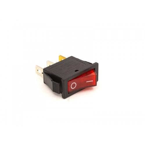 Переключатель ON-OFF KCD3-102/N (красный)