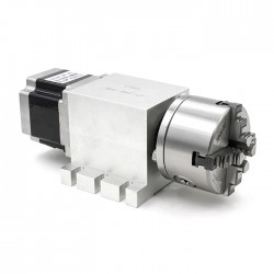 4я ось 4кл 100мм +бабка 17-100-100B (волновой редуктор 100:1)